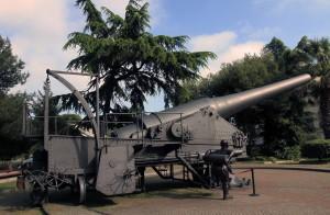 A Krupp Mark, fixed cannon.