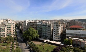 View of Thessaloniki from the White Tower.