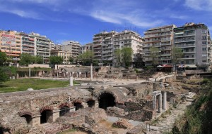 The Ancient Agora of Thessaloniki.