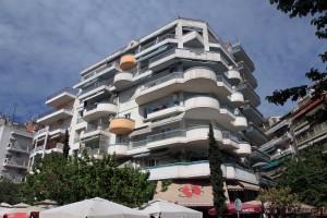 Building in Thessaloniki.