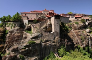 "The Great Meteoro (""Transfuguration of Jesus"") Monastery."