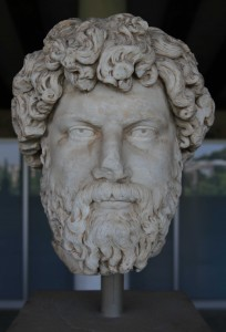 Portrait head of a man (2nd-century AD).