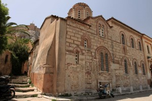 The Holy Church of St. Nicholas Ragkava (built in 1050 AD).