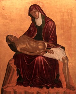 Pietà, from the 15th-century AD.
