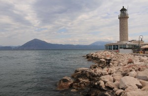 The Patras Lighthouse.