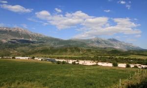 The Albanian countryside.