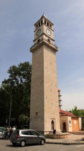 The Clock Tower of Tirana.