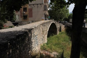 Tanner's Bridge, once part of the Saint George Road that linked Tirana with the eastern highlands.
