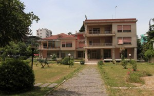 The former residence of Enver Hoxha.