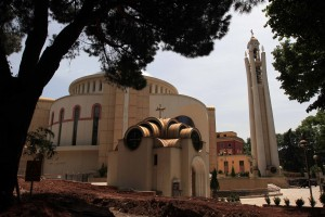 The Resurrection of Christ Orthodox Cathedral of Tirana.