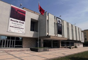 The National Arts Gallery in Tirana.