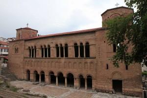The Church of Saint Sophia, an 11th-century AD church.