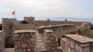 View of Samuil's Fortress from the northeast tower.