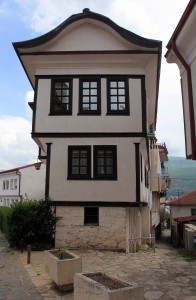 The House of the Kanevce family (another example of Ohrid traditional architecture).
