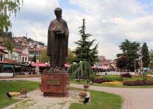 Statue of Saint Naum.
