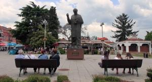 Statue of Saint Clement.