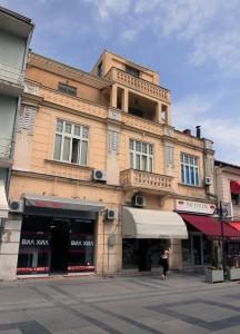 Old building found along Shirok Sokak in Bitola.