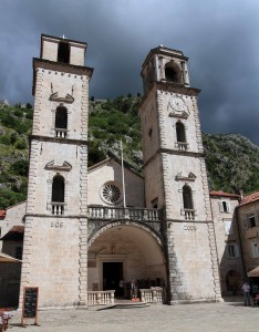 The Cathedral of Saint Tryphon (named after Saint Tryphon of Campsada, the protector saint of Kotor).