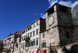 The Clock Tower in Kotor.