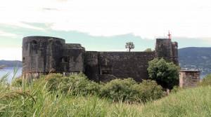 "Kanli Kula Fortress in Herceg Novi (the name means ""Bloody Tower"")."