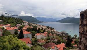 View of the Bay of Kotor, seen from Kanli Kula Fortress.