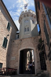 The Clock Tower above the old town gate.