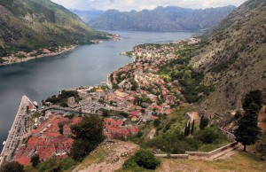 Another view of Kotor, seen from the Castle of St. John.