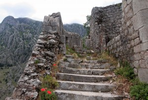 Steps in the Castle of St. John.