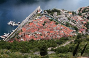 The old town of Kotor.