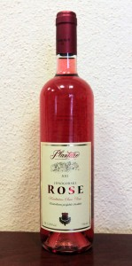 Bottle of Montenegrin Rosé.