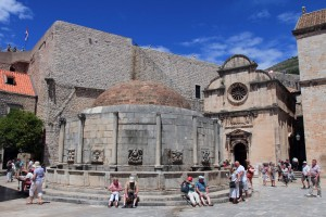 Onofrio Fountain, which was built in 1438 AD as part of a water-supply system for the city.