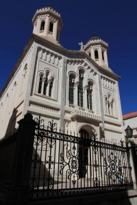 The Church of the Holy Annunciation, a Serbian-Orthodox church in Dubrovnik.