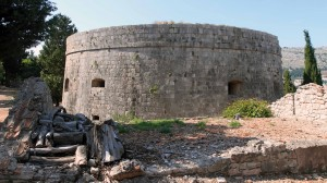 Fort Royal, located on the highest point on Lokrum Island.