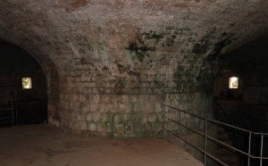 The interior of Fort Royal.