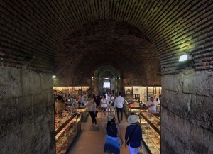 Diocletian's Palace's underground complex.