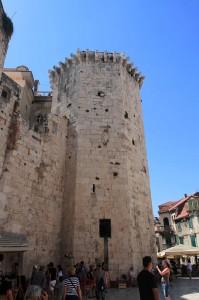 The Venetian Tower in Split.