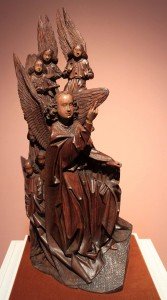 Sculpture of the Archangel Gabriel (Flanders, 15th-century AD).