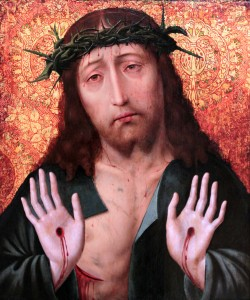 Painting of Christ by Aelbrecht Bouts (1450s-1549 AD).