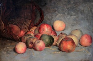 'Apples' by Édouard Manet (19th-century AD).