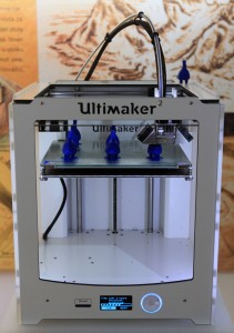 An Ultimaker 3D Printer in action at the Archaeological Museum in Zagreb (since I had never seen one in person before, this was the most exciting artifact on display within the museum).