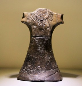 Bronze Age Female Idol figurine.