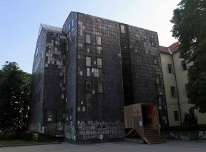 Horrid building in Upper Town (on the southeast corner of Gornji Grad).