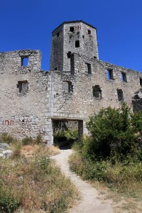 Another view of Počitelj Fortress.