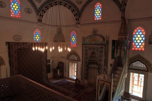 The inside of Koski Mehmed-Pasha's Mosque.