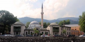 The Emperor's Mosque, the first mosque to be built after the Ottoman conquest of Bosnia (in 1457 AD).