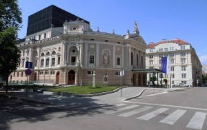 Slovenian National Opera and Ballet Theater.