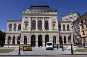 The National Art Gallery in Ljubljana.