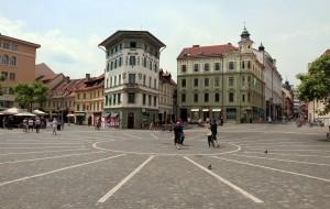 View of Prešeren Square.