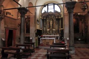 Inside San Giacomo di Rialto.