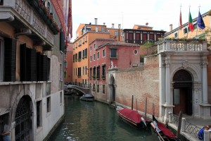Another canal in Venice.